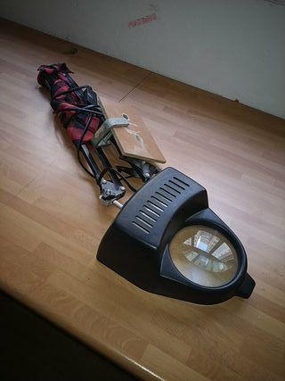 Lámpara lupa flexo