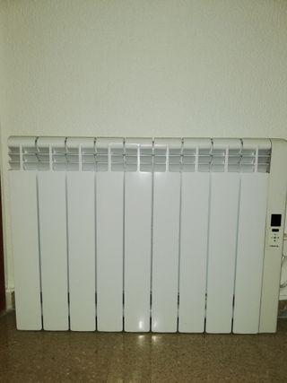 Radiador eléctrico calor azul bajo consumo Serie Z