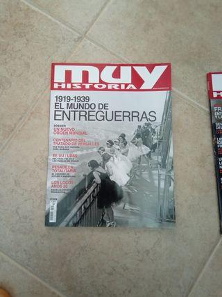 Revistas muy Histotia actuales