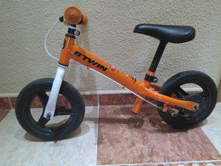 Bicicleta btwin sin pedales