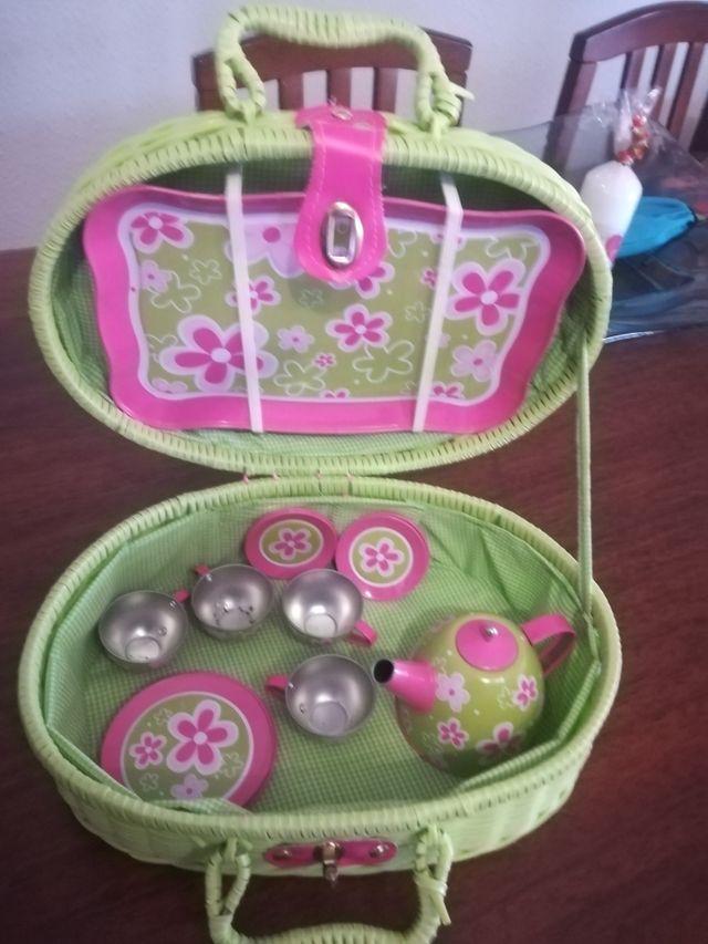 juego café cesta picnic