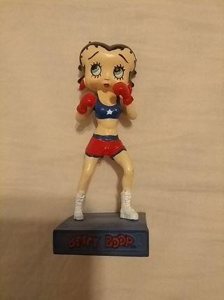 Betty boop boxeadora