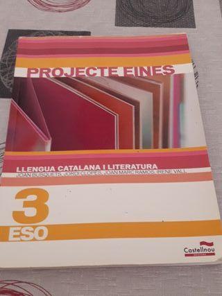 Libro de literatura catalana 3 ESO