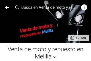 venta de moto y respuesto en Melilla