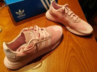 Zapatillas mano por mujer 38 Adidas rosa segunda de número QxrCBWdeo
