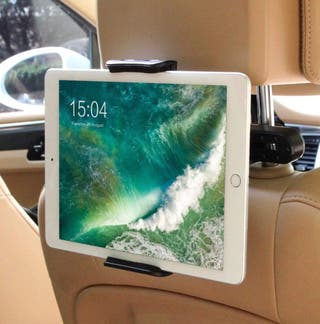 Soporte Tablet Coche Reposacabezas 360GRADOS