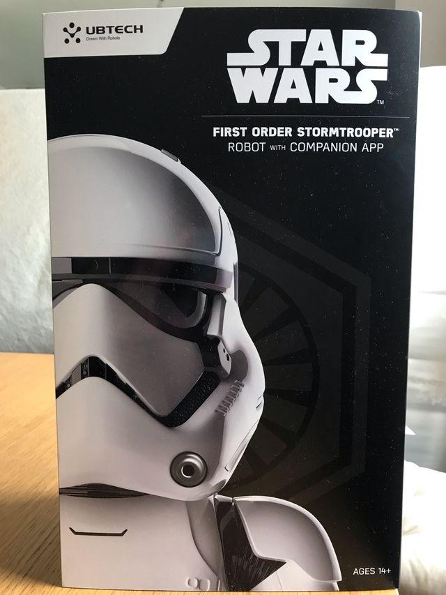 Star Wars UBtech first order Stormtrooper Robot