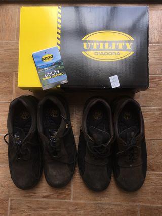 Zapatos de Seguridad Utility Diadora Talla 42.