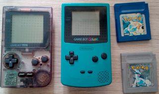 pack game boy + juegos