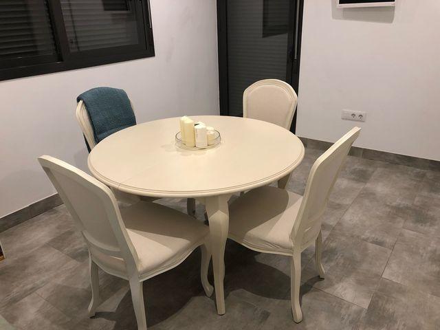 Conjunto mesa y sillas comedor de segunda mano por 490 € en ...