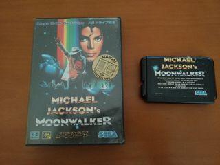 Michael Jackson's MOONWALKER para Sega Megadrive