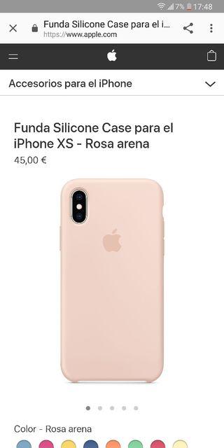 796c1b7cf0e Iphone X rosa de segunda mano en Barcelona en WALLAPOP