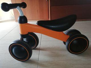bicicleta bebé +12m