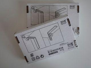 IKEA BETYDLIG Soporte pared/techo 2x. NUEVOS.
