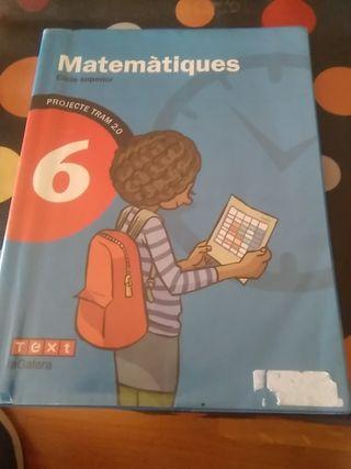 libro matemáticas 6o primaria.