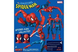 Spiderman cómic version Mafex.