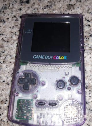 Game boy transparente