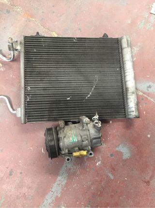 Compresor y radiador c2