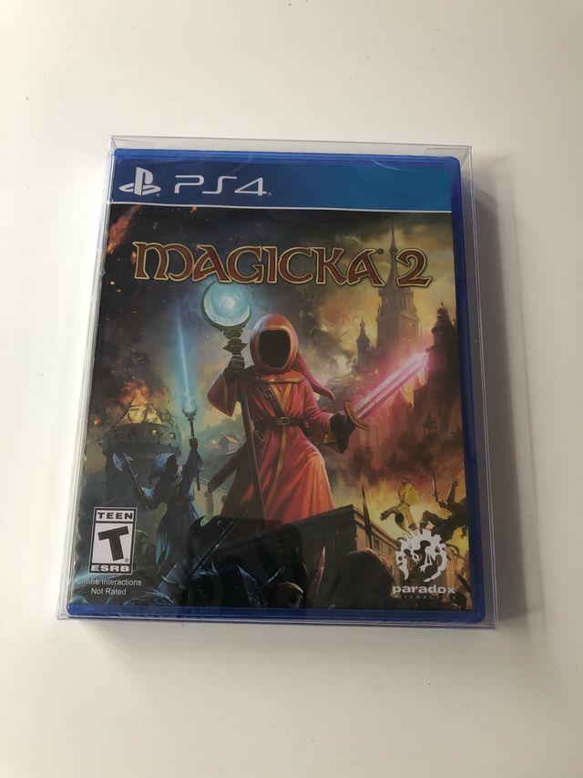 Magicka 2, PS4, Limited Run Games.