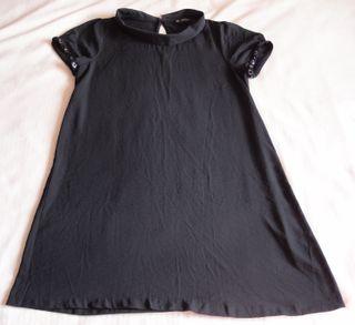 Vestido negro Zara Talla XL