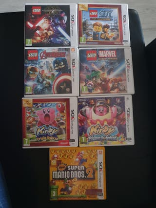 Pack juegos 3DS