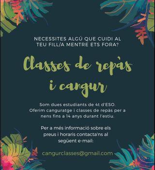 Clases de REPASO Y CANGURO