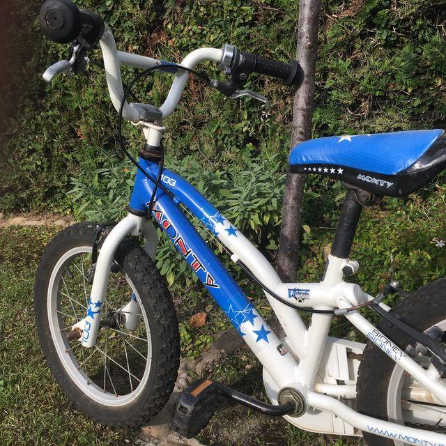 Bici niños 5-7/8 años Monty 11 BMX