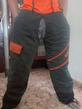 Pantalon anticorte