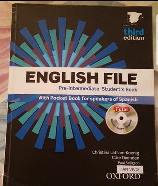English file pre-intermediate ISBN 9780194598453