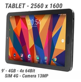 Tablet + Movil 9' / 2K / 4GB / Quad