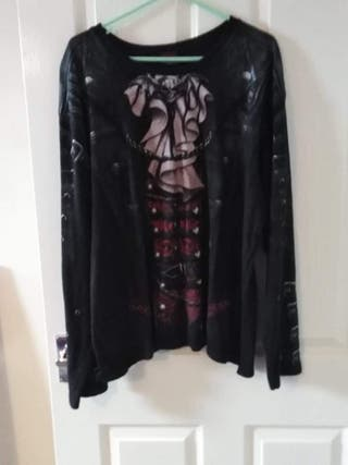 Gothic long sleeve t shirt