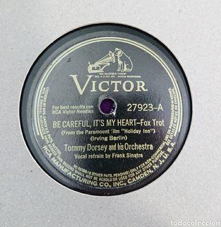 Frank Sinatra, Tommy Dorsey disco pizarra
