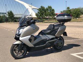 moto BMW c 650 gt