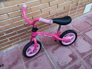 Bicicleta de aprendizaje Chicco sin pedales