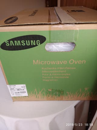 Horno Microondas Samsung a estrenar