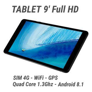Tablet + Movil 8' / FHD / 2GB / Quad