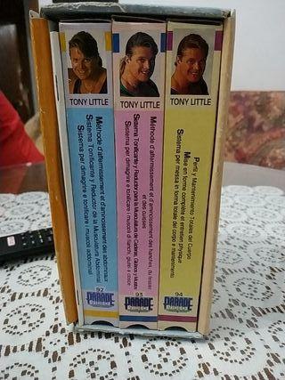Cintas VHS ejercicio en casa
