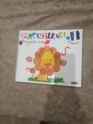 libro plástica 1 primaria