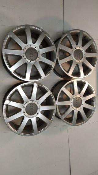 Llantas Audi 17 pulgadas originales Old Rs4