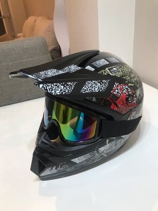 Casco descenso bicicleta enduro DH