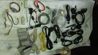 Lote de cables (En peso más de 2kg)