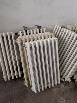Radiadores de hierro Antiguos