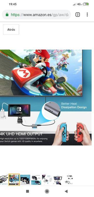 Nintendo Switck dock Nuevo