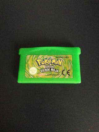 Pokémon verde hoja