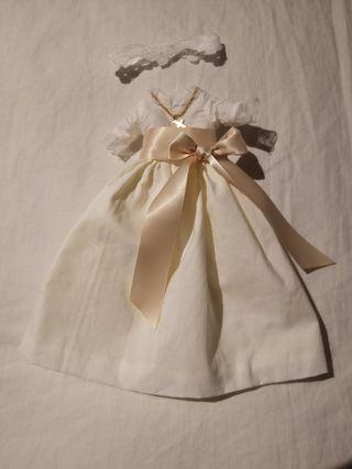 Vestido de Comunión original de Lesly de Famosa