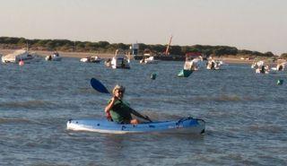 Kayac poliester rígido, modelo BIC BILBAO.