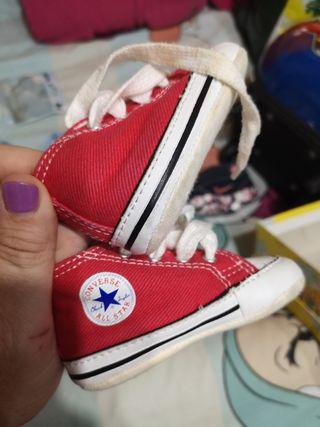 zapatillas converse bebé