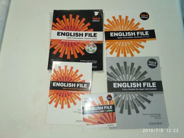 B2 English File Upper-intermediate Oxford  de segunda mano por 10