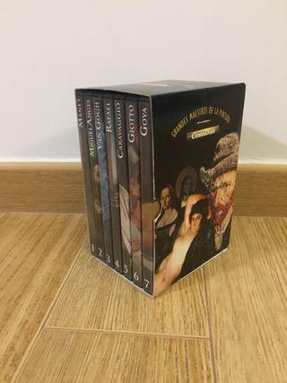 Grandes maestros de la pintura. 7 DVD'S