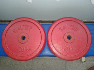 Par de Pesas Salter 20 kg hierro